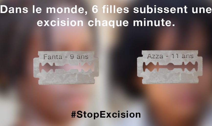 DR campagne stop excision