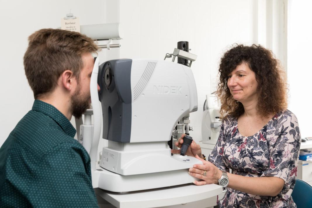 Le nouveau test Visu-Santé, photo : Claire-Lise Havet