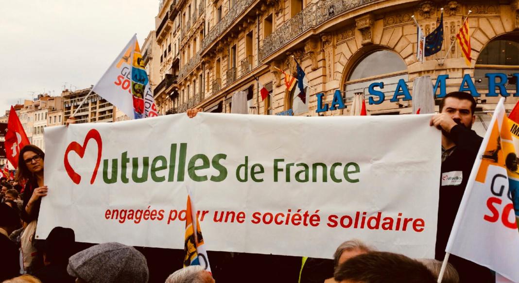 Manifestation mutuelles de France @Pierre Méry