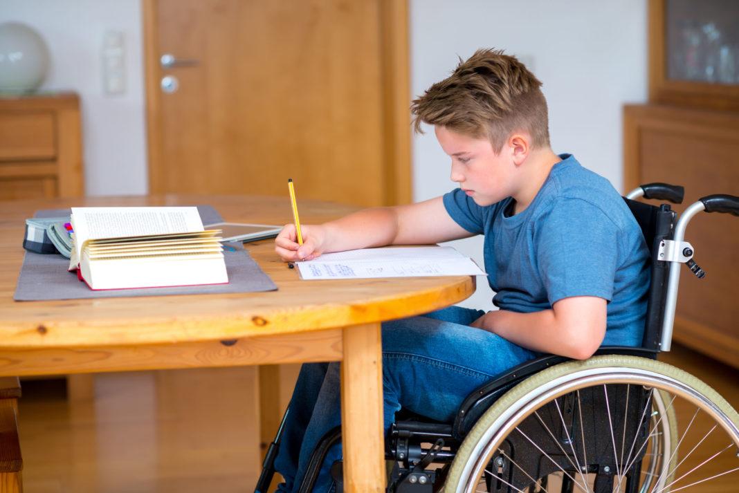 handicap, enfant, école, plan gouvernemental pour le handicap 123RF©
