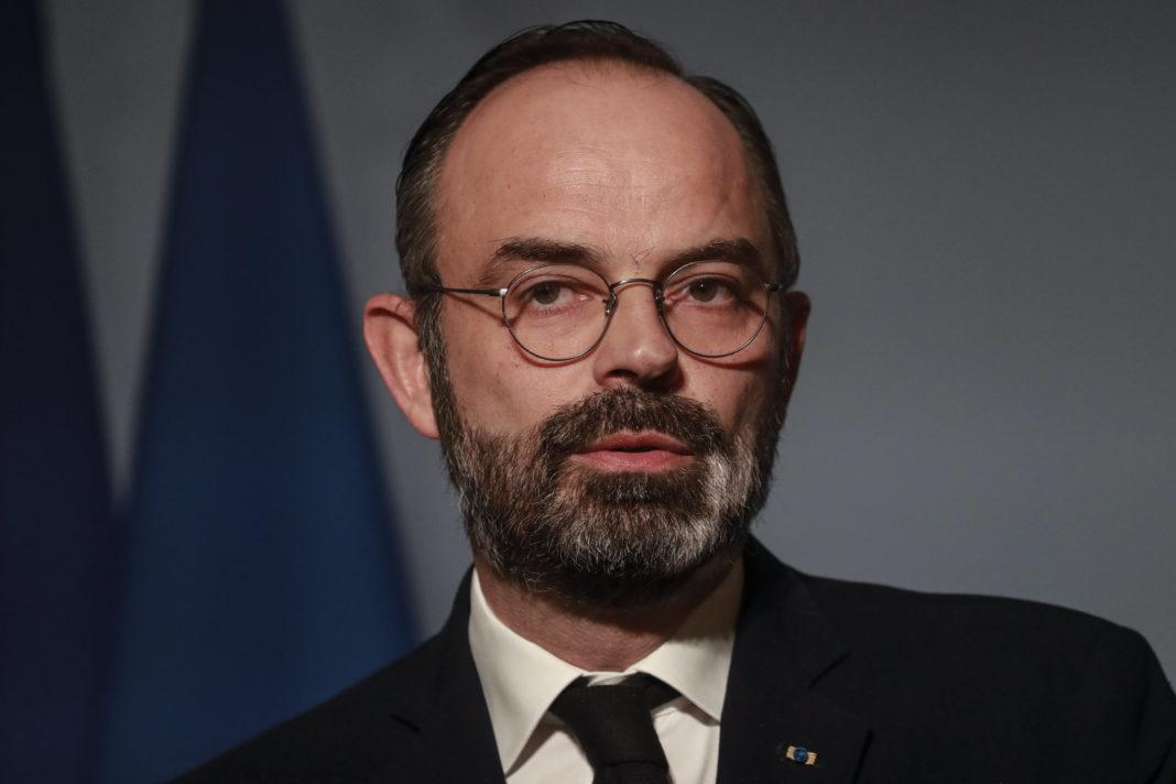 Premier ministre au palais de l'Elysee Coronavirus Covid 19 Copyright : Ludovic Marin/POOL/REA