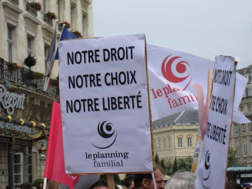 Droit à l'avortement pendant le confinement, Planning familial DR