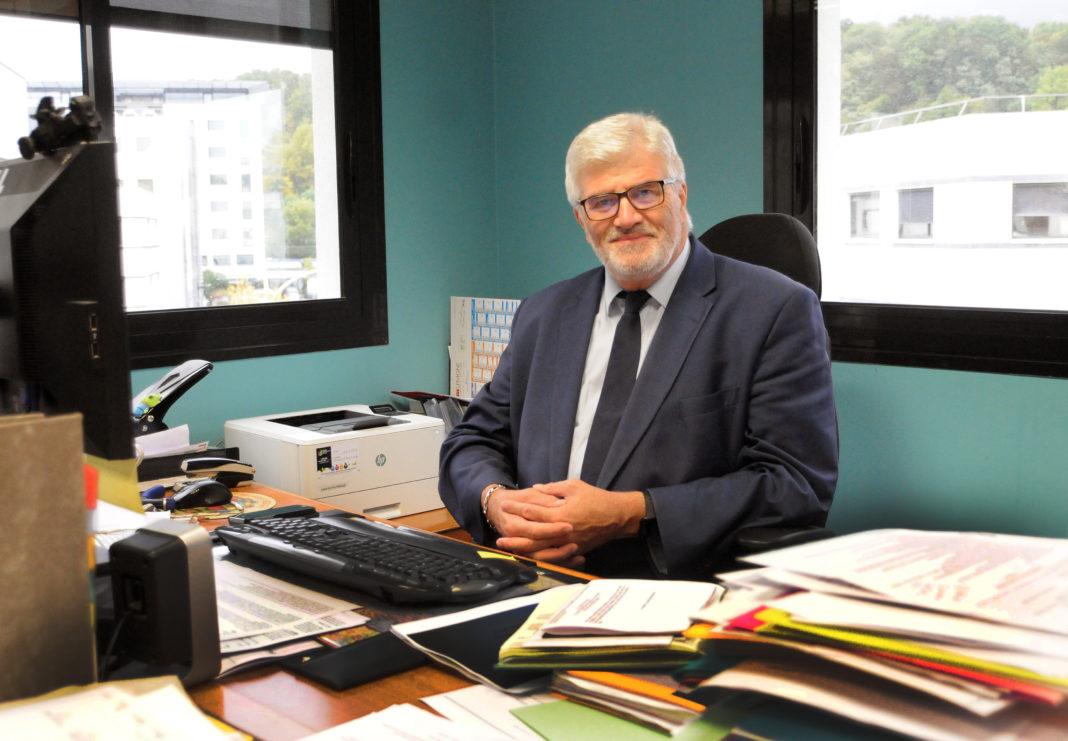 Michel Duret, président de la mutuelle Entrenous. © Sylvie Friess