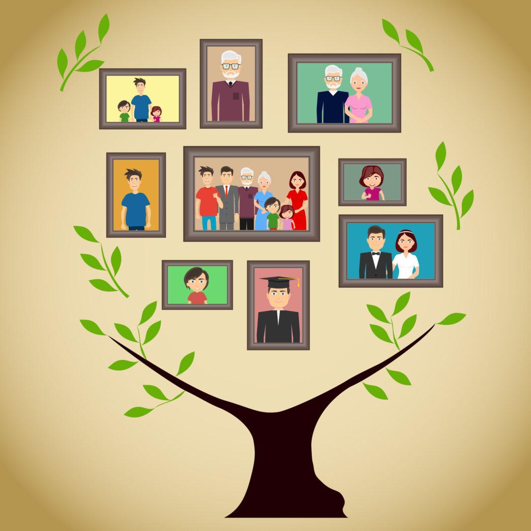 généalogie, arbre généalogique, recherche de nos ancêtres 123RF©