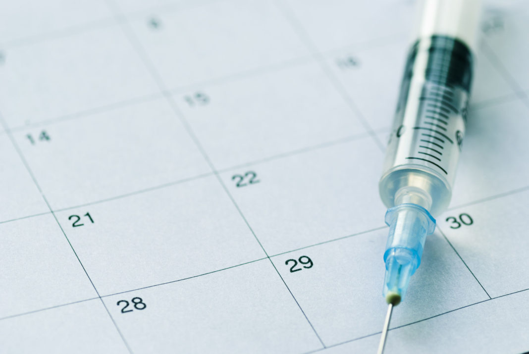 Vaccination, calendrier vaccinal 123RF©