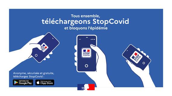 Appli Stopanticovid DR