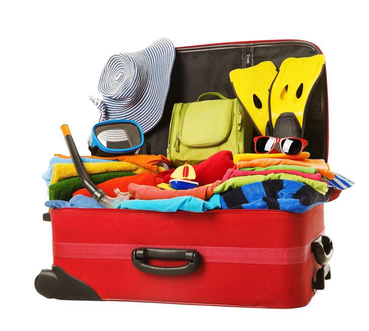 Ne rien oublier dans la valise des vacances 123RF©
